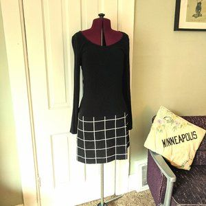 Banana Republic Drop Waist Work Dress 6
